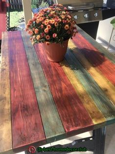 Home Office Ideas For Small Spaces Wood Pallet Furniture, Diy Furniture Projects, Funky Furniture, Paint Furniture, Home Office Furniture, Home Office Decor, Rustic Furniture, Office Den, Diy Home Decor