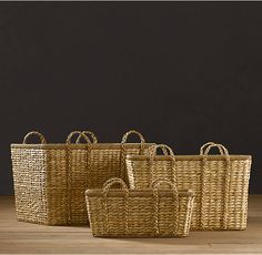 Seagrass Baskets - Natural