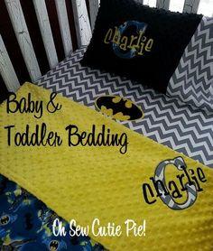 batman baby room | Personalized Superhero nursery bedding, Baby & Toddler custom Batman ...