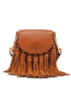 hudson mini fringe bag. chloe. because if you're going to do fringe, do it big.