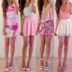 QUESTION OF THE DAY: Which one is your favorite???? From left to right 1,2,3, or 4