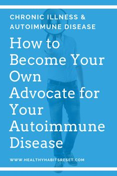 Medical advocacy is crucial for proper autoimmune treatment. Learn how to become an educated patient who fights for what you want and need! Thyroid Symptoms, Disease Symptoms, Thyroid Disease, Thyroid Health, Autoimmune Disease Awareness, Autoimmune Diet, Chronic Disease Management, Cidp