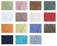 Bergere de France Sonora - a cotton/acrylic mix 50gm - 115m $6.69 Deramores