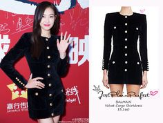 Just Plain Perfect: f(x) Victoria Song at Movie 'The Witness' Press Ev...