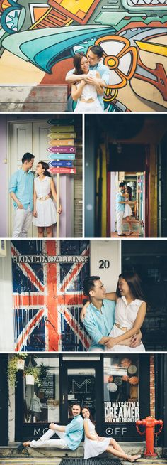 Singapore Pre-wedding Photos at Arab Street, Museum and Barrage by Hery Portrait on OneThreeOneFour 3