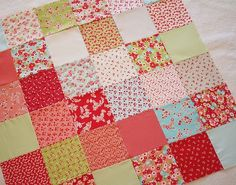 Charm Square Quilt 15