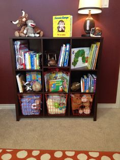 Bookshelf for nursery #bookshelf #nursery
