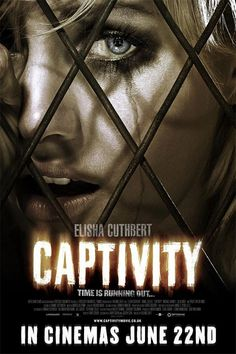 Captivity , starring Elisha Cuthbert, Daniel Gillies, Pruitt Taylor Vince, Michael Harney. A man and a woman awaken to find themselves captured in a cellar. As their kidnapper drives them psychologically mad, the truth about their horrific abduction is revealed. #Crime #Horror #Thriller