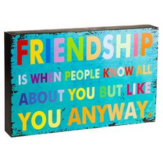 Friendship Wall Decor