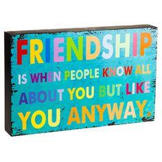 Friendship Wall Decor