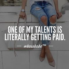 boss babe quotes quote of the day business women woman entrepreneur be your own woman don't settle motivational girls love confidence chase your dreams success teach Quotes To Live By, Me Quotes, Motivational Quotes, Inspirational Quotes, Girly Quotes, Qoutes, Rich Quotes, Hustle Quotes, Quotations