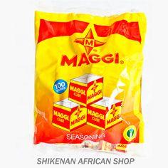 Maggi 100 cubes (14oz) - African Food