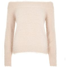 fluffy bardot jumper - RI