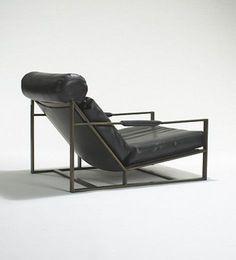Milo Baughman, #B-1739 Lounge Chair for Thayer Coggin, c1967.