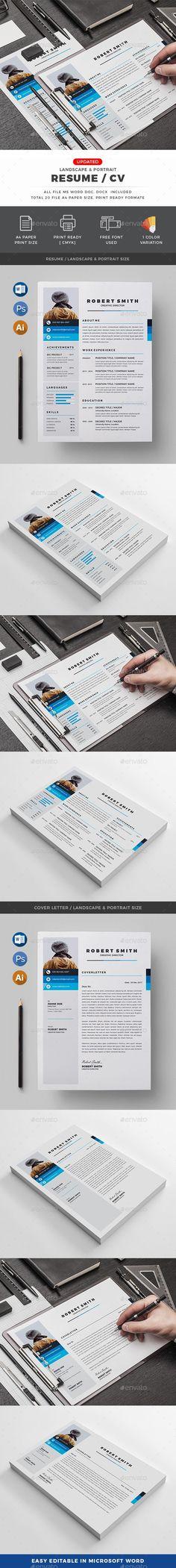 CV 1552 best Resume Design images on