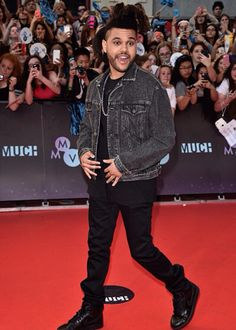 The Weeknd at the Much Music Video Awards    June 21, 2015