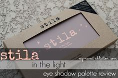Stila Cosmetics In The Light Eye Shadow Palette #review and #swatches via @Laura Jayson Gallaway