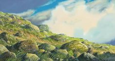 Howl's Moving Castle. Directed by Hayao Miyazaki. Created by Studio Ghibli.