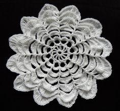 Crochet : Flor de 12 Petalos. Parte 1 de 3 - YouTube