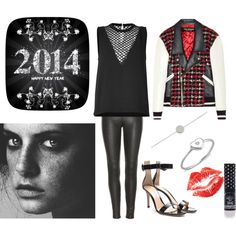 A fashion look from January 2014 featuring keyhole top, tweed jacket and legging pants. Browse and shop related looks. Tweed Jacket, Rock N Roll, Leggings Are Not Pants, Rolls, Fashion Looks, Polyvore, How To Make, Jackets, Shopping