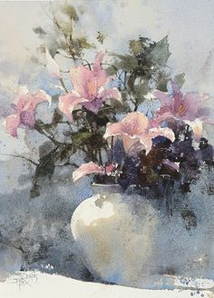 Watercolor by Chien Chung Wei (b. 1968)