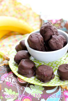 Eat Good 4 Life No bake Peanut butter, banana and dark chocolate bites » Eat Good 4 Life