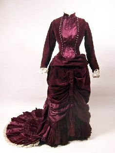 Object Name: dress    Artist/Maker: Slater, Miss  Role in production: maker  Date: 1880-1882    Accession Number: 1947.4131  Image Copyright: © Manchester City Galleries