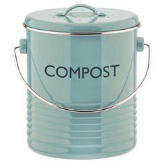 Poubelle compost avec filtre en métal Summer House Typhoon