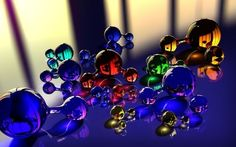 balls molecule massager glass reflection color x Hd Wallpaper 3d Wallpaper Ceiling, Hd Wallpaper, Wallpapers, Digital Wall, Glass Ball, Light And Shadow, Glass Design, All The Colors, Color Mixing