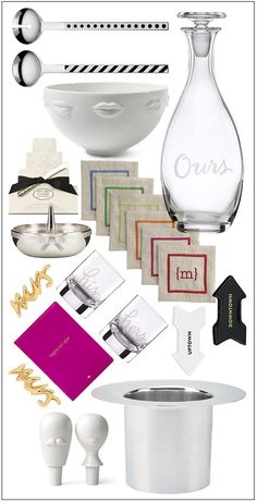 Check out these ideas for wedding gifts.