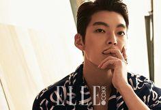 Uncontrollably Fond's Kim Woo Bin for Elle Korea August Issue Ahn Jae Hyun, Lee Jong Suk, Kim Woo Bin, Asian Actors, Korean Actors, Korean Actresses, Uncontrollably Fond, Korean Face, Bae Suzy