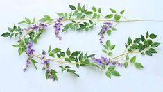 Sunrisee 2 Pcs Artificial Flowers Silk Wisteria Ivy Vines Hanging Flower Greenery Garland for Wedding Party Home Garden Wall Decoration, Purple Greenery Garland, Living Room Lighting, Wisteria, Interior Design Inspiration, Artificial Flowers, Pendant Lighting, Ivy, Vines, Home And Garden