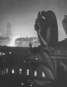 Brassaï    Nocturnal View from Notre Dame, 1933