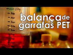 Balança de garrafas PET (balança caseira - experiência de física)