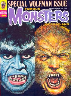 Famous Monsters of Filmland - issue #96 - 1973 - Wolfman