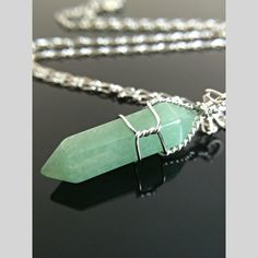 """Green Aventurine is known as the """"Stone of Opportunity,"""" thought to be the luckiest of all crystals."""