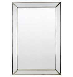 Beveled Frame Mirror  E0823. Rejuvenation.  24x36