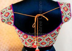 Kundans and Stones Royal Blouse | Saree Blouse Patterns