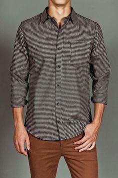 Comune Judd L/S Shirt Charcoal