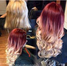 Red velvet and blonde