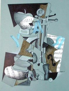 Lesson Plan: Cubism Collage