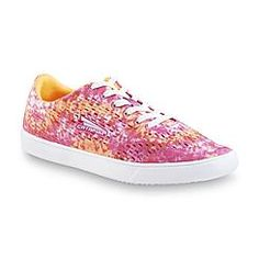 CATAPULT Women's Rosi Pink/Orange Memory Foam Athletic Shoe