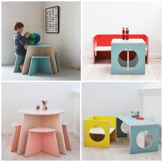 SMALL DESIGN: PLAYFUL FUNCTIONAL KIDS FURNITURE