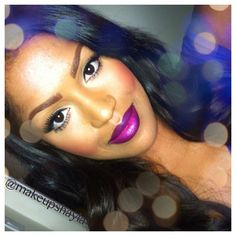 Vino Lip liner MAC...love her lips!