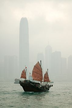 Hong Kong. Visited here while on our trip through China.