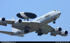 French Armée de l'Air Boeing Sentry AWACS - 204 / Cambrai - Epinoy (LFQI), The Cambrai air base has since closed. Jet Air, Engin, Military Equipment, Military Aircraft, Airplane, Air Force, Aviation, Army, Helicopters