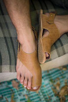 Mens Sandals Flip Flops Mens Sandals For Beach Leather Slippers, Leather Sandals, Shoes Sandals, Handmade Leather Shoes, Leather Men, Shoe Pattern, Mode Masculine, Fashion Boots, Shoe Boots