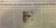 #Twittamidinotte al Master in Web Communication e social media dell'Università degli Studi di Parma. Ritaglio di gio...