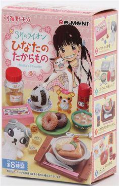 Lion Kawamoto Hinata's favorite Japanese food Re-Ment miniature blind box 3
