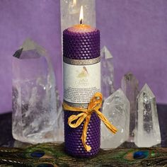 SG Signature Candle for rebirth and wholeness